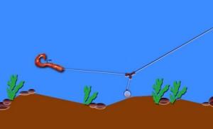 Отводной поводок на окуня: фото, видео и схема оснастки