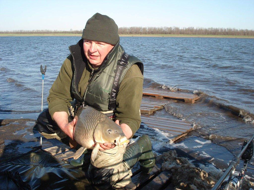 рыбная ловля в марте