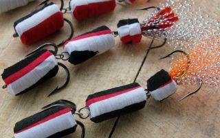 Мандула и поролонка на окуня – уловистые приманки для водного хищника